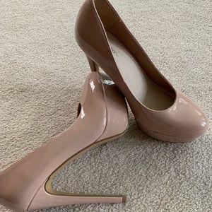 Nude Heels (Size 8) Xhilaration